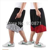 Basketball Shorts Crack - Black And White Nylon Breathable Sports Basketball Shorts Men's Shorts Summer Sports Shorts