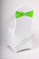 2# spandex chair cover band with shining buckle, spandex chair band, spandex chair cummerbund,