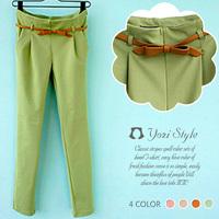 New 2014 Summer Fashion All-match Slim Casual Women Pants Mid Waist Long trousers Harem pants Sweatpants lulu leggings