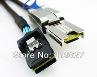 Mini sas SFF 8088 26p to 8087 mini sas 36p 1m server hard drive cable