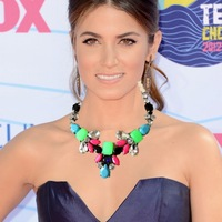 N1059  color collage statement necklace colored beads statement bib necklace