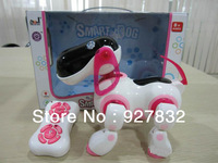 2013 new Transpace remote control intelligent robot dog /music toy/best Toy For Children Kids,Free shipping