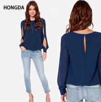 female shirts women blouse long sleeve camisas femininas chemise femme XXXL Blusinha blusa chiffon tshirt ropa mujer Camisetas