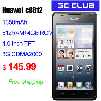 HuaWei C8812  4.0inch 3G/business 320MPX camera  dual-core smart android cellphone