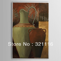 "Free Shipping!100%hand painted Still Life Oil Painting on Canvas /new design/High Quality/wall art/YCF105832(24""Wx36""H)"