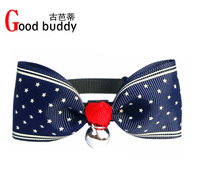 Christmas gifts free shipping(100pcs assorted sizes and color)dog collars,cat collars,necklace for pets,small bowties