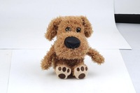 Electronic Pet Dog Plush Toy Talking Dog Speaking Toy Animal Repeat Dog Cute as Talking Hamster  Free Shipping