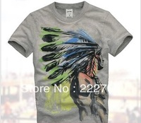 brand name fashion t shirts tee shirts for casual men new 2014 sport hot selling autumn -summer free  big size