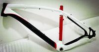 Cheap Super Light 29ER Carbon MTB Frame white + red,MTB Carbon 29ER Mountain Bicycle Frame