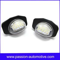 Error Free White 18SMD LED Number License Plate Light Lamp for TOYOTA Corolla Alphard Sienna Auris Wish