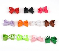 Free Shipping Boutique Baby 5 inch HAIR BOW with Clip,60 pcs/lot