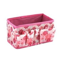 New Arrive: Folding Make Up Cosmetic Storage Box Container Bag Case free shipping