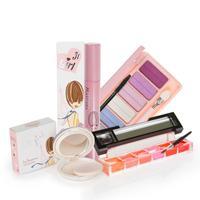 Make-up 4 lip gloss six-color eye shadow curling mascara symphony powder