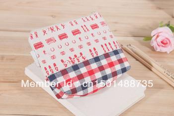 Storage bag cosmetic bag coin purse creative practical cartoon linen
