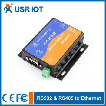 Ethernet serial converter,ethernet to rs232 rs485 module converter