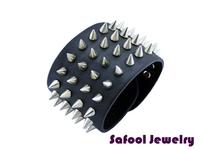 VB075(Min.Order $15)Wholesale 2014 Men Women Bracelets Punk Style Vintage Leather Bracelet Rock Bracelet Gifts High Quality