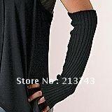 New Arrive: Arm Warmers Long Gloves Fingerless Mittens Funk Black wholesale