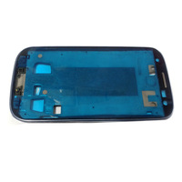 Blue original samsung galaxy s3 i9300 Front Middle frame Housing Cover Case free shipping+Tools