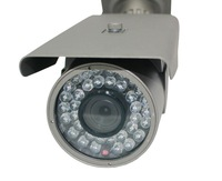IPS H.264/MJPEG 1/4-inch 1.0 Megapixel OV9712 CMOS include 4/6/8MM Fixed Lens Bullet IP Surveillance System Cameras(IPS-611)