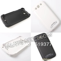 For samsung galaxy S3 i9300 Mobile Charger case 1X 3200mAh External Rechargeable Backup Battery Power Case Free shipping 730196