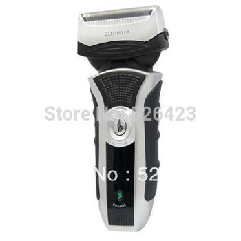US Mens Rechargeable Electric Shaver Double Edge Razor