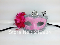 Free Shipping Fashion Venice Princess Dance Party Flower Masks