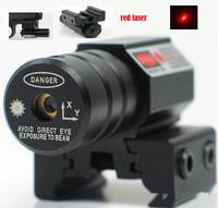 free shipping 635-655nm Red Dot Laser Sight For Pistol Adj 11mm/20mm Picatinny/Weaver Mount