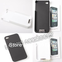1pc/lot Phone Qi Standard Wireless Charger Receiver Back Case Black/White Color 730170