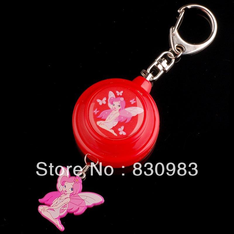 Cute mini keychain alarm personal guard ETE-3306(China (Mainland))