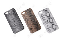 free shipping Snake cover likeness shaped pattern back Case Cover for iphone 5 nice case skin for iphone 5 G 2013 hot selling