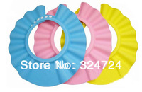 Adjustable Shower cap kid children Wash Hair Shield Hat protect Shampoo for baby health Bathing bath waterproof caps hat