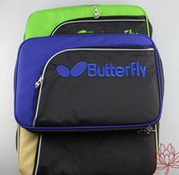 Butterfly tbc-856 table tennis ball bag table tennis rackets cover  bilayer film sets three color options