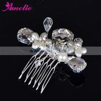 Free Shipping Wholesale & Retails Charm Rhinestone Bridal hair Comb Wedding headwear