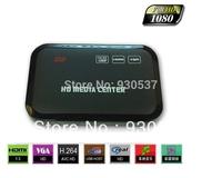 New arrival 1080p hd usb hdmi sd  player  with HDMI VGA SD support MKV H.264 RMVB WMV free shipping
