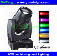 60W Zoom Beam Moving Head LED, Beam disco light, Zoom Moving Heads, Stage Light