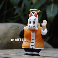 Free posting  Dragon Ball Hand DO Toys Cat face Kame-Sen'ninModel Sun Gohan Toys (14cm) Birthday Gift For Children