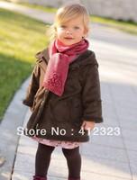 wholesell 5pcs/lot children boy girls winter warm fleece coat jacket baby Eur model Blends jacket outwear