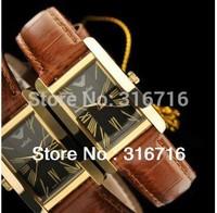 Hot Sale Brand Watch JULIUS Unisex Watches Fashion Casual Rectangle Quartz Men Women Wristwatches Leather Strap Colock 399