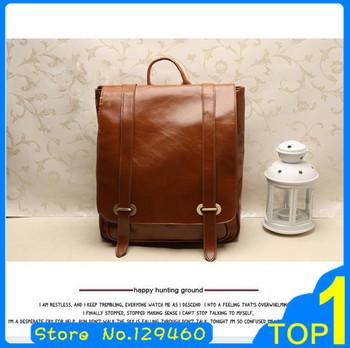 New 2014 Fashion vintage casual bag fashion women's handbag leather bag free shipping