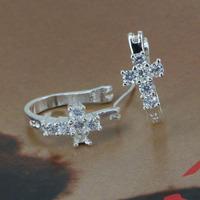 E311 Wholesale 925 silver earrings, 925 silver fashion jewelry, fashion earrings