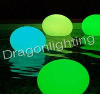 30cm RGB remote control PE luminous furniture/ LED floating ball /LED magic ball