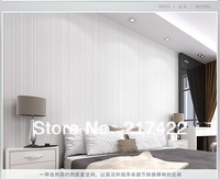 Brief Modern Vertical Stripe Plain Wallpaper Home Hotel Office Wall Papers Home Decor