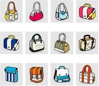 Free shipping 2D 3D handbag shoulder bag 3d comic women bag messenger cartoon canvas bag