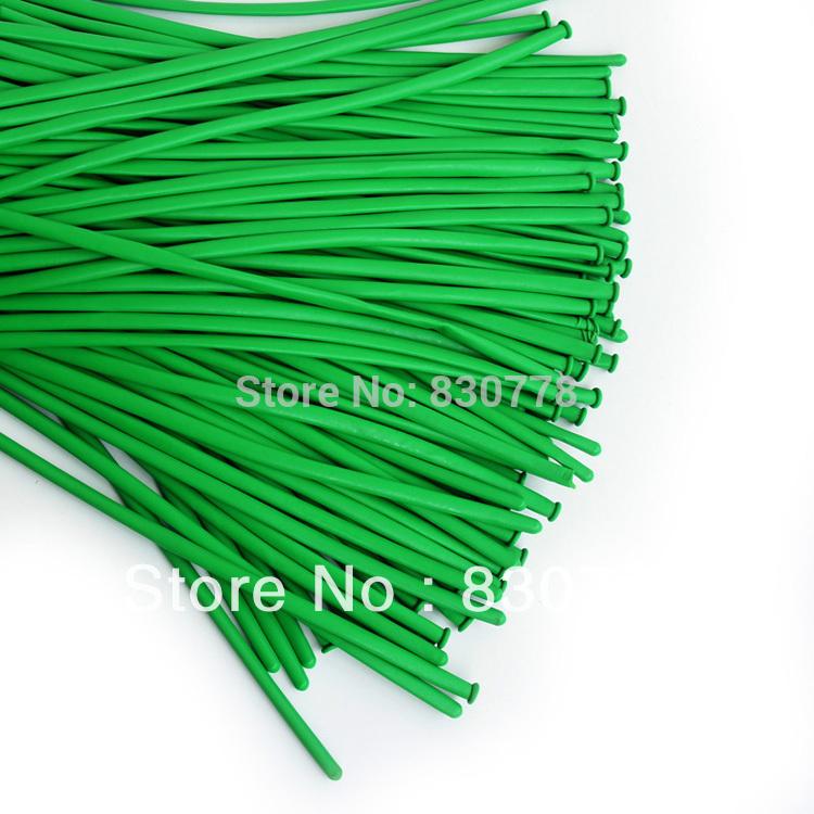 Balloon Shape Long Green