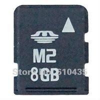 Wholesale M2 memory card 8GB full capacity MOQ 1pc Free shipping