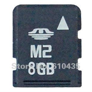 Wholesale M2 memory card 8GB full capacity MOQ 1pc Free shipping(China (Mainland))
