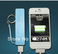 New High Capacity of 2600 mah Perfume Power Bank 'Charger For iPhone,, Samsung 100 Pcs and retail packaging
