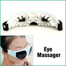 Magnetic Eye Care Massager Anti-myopia Eye Nurses USB Electric Acupuncture Magnet Eye Massage Free Shipping