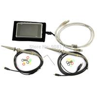 Titanium color ARM DSO203 Nano V2/Quad Pocket 4CH Digital Oscilloscope Silver/Transparent