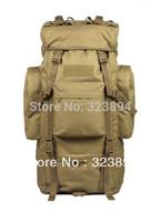 65L Tactical Travel Backpack Rucksack Outdoor Sport Camping Hiking Trekking Bag